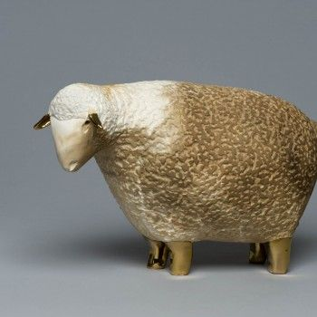 Pauline Pelletier | Winnipeg Art Gallery     Sheep.