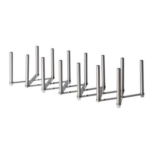 IKEA - VARIERA, Deckelhalter, Die Länge ist variabel und lässt sich dem Bedarf anpassen.