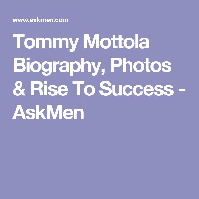 Tommy Mottola Biography, Photos & Rise To Success - AskMen