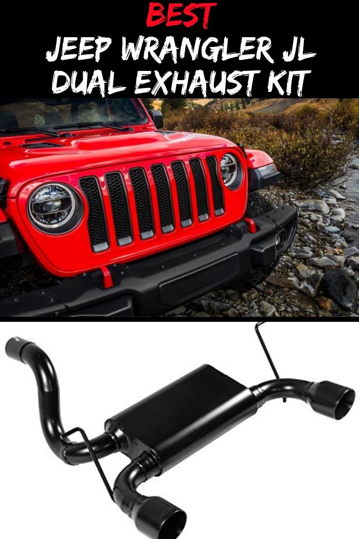 Flowmaster 817804 Sound 2018 Jeep Wrangler Jl Exhaust System Axle