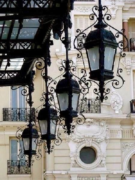 Street Lamps, Paris                                                                                                                                                     More