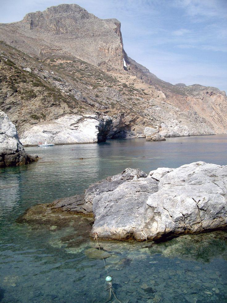 "Aggia Anna and Monastery of Panaghia Jozoviótissa - Amorgos (Greece) movie ""The Big Blue"" by Pascual Ibañez"
