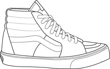 Gallery For Shoe Template