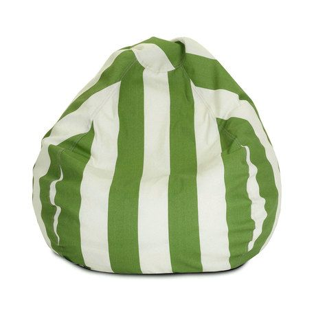 Who makes the rules? We love the bold stripes in this Ruled Bean Bag - Small. What a great boost for a kid's room or an outdoor poolside area. This weather-friendly bean bag goes everywhere, providing ...  Find the Ruled Bean Bag - Small, as seen in the Poufs Collection at http://dotandbo.com/category/decor-and-pillows/poufs?utm_source=pinterest&utm_medium=organic&db_sku=94300