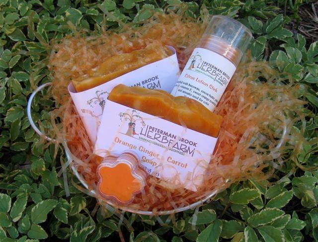 All about orange gift set www.petermanbrookherbfarm.com