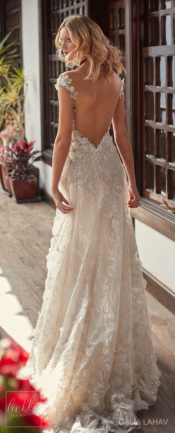 Wedding dress by Galia Lahav Couture Bridal - Fall 2018 - Florence by Night - Bryony #weddingdresses