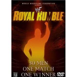 WWF Royal Rumble 2002 Original WWF Logo Present