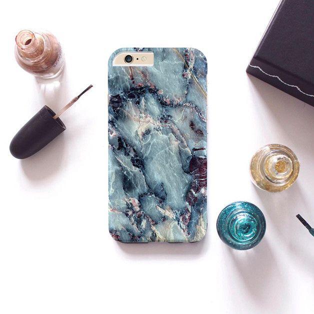 Phone Cases – Erstaunlicher blauer Marmor Fall fü iPhone Samsung – a unique…