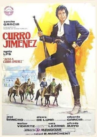 Cartel Curro Jimenez