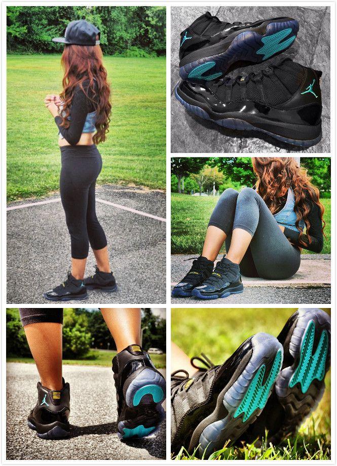 Air Jordan 11 Gamma Blue Women Shoes Cheap Nike Shoes ...