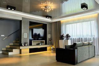 Aranżacja salonu w kolorze szarym