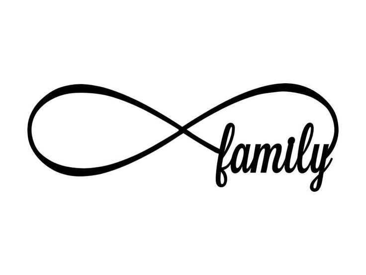 Family Infinity Symbol Image Collections Meaning Of Text Symbols