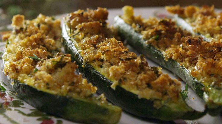 Vegetarian Baked Zucchini Gratin or Zucchine Gratinate http://therealitalianfood.com/baked-zucchini-gratin-or-zucchine-gratinate/
