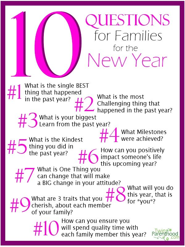 17 Best images about New Years Family Ideas on Pinterest ...