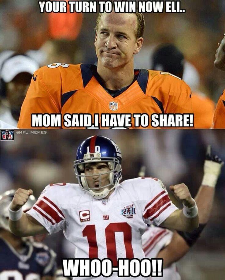 memes football meme nfl funny jokes manning eli sports broncos peyton humor american brady patriots laugh funniest hilarious denver lol