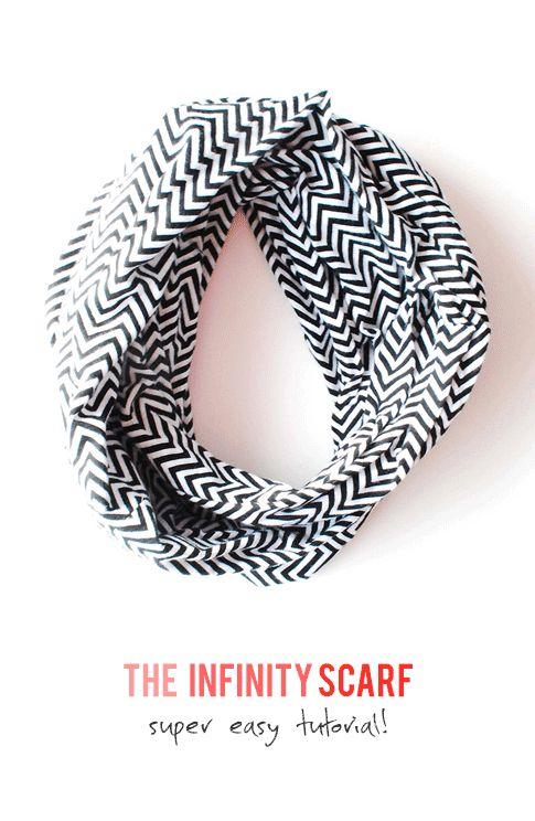 infinity scarf free tutorial by Sew Creative / ann kelle