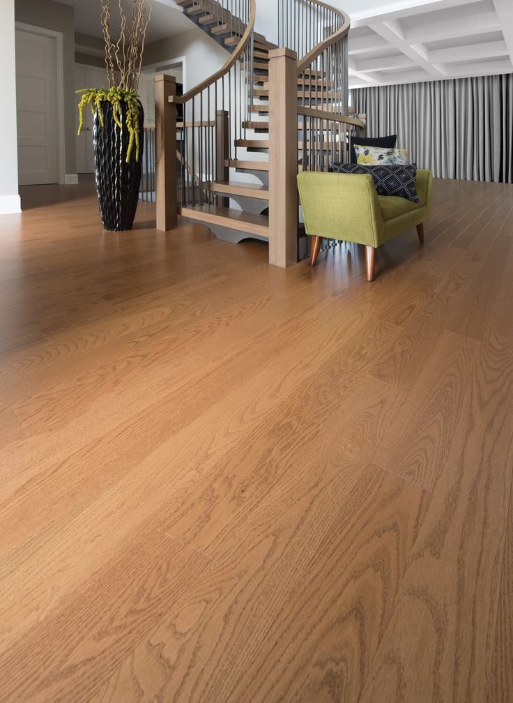 Mirage Floors, the world's finest and best hardwood floors. Red Oak Sierra #redoak #sierra #mirage #hardwood #floor