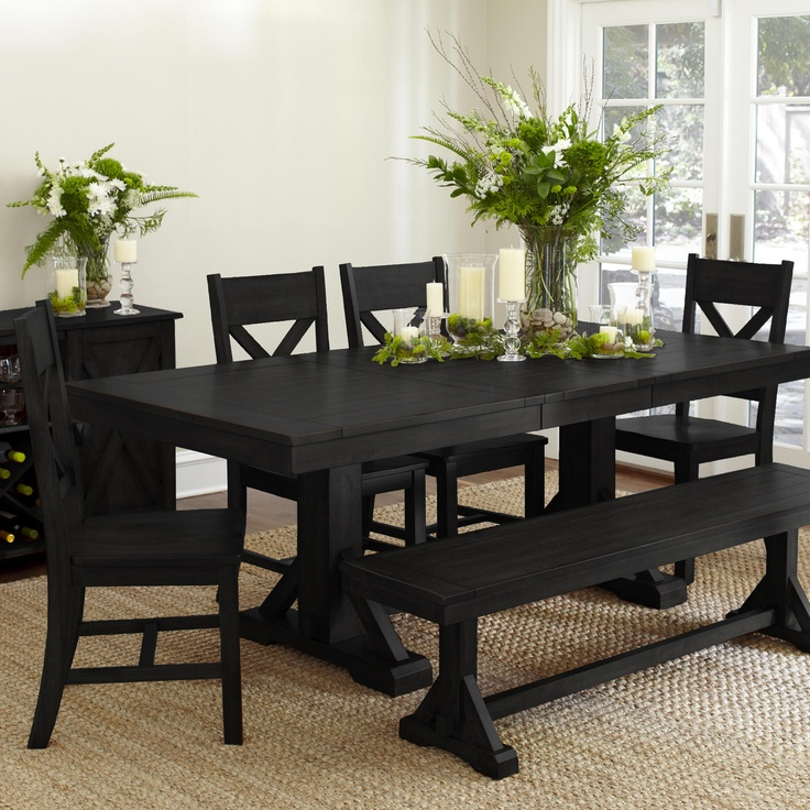 1000+ Ideas About Black Dining Room Furniture On Pinterest