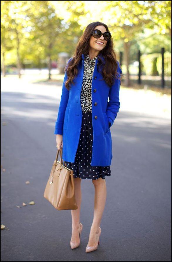cobalt coat style