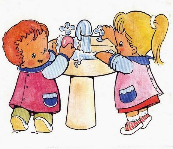 Resultado de imagen para dibujos de rutinas diarias para niños