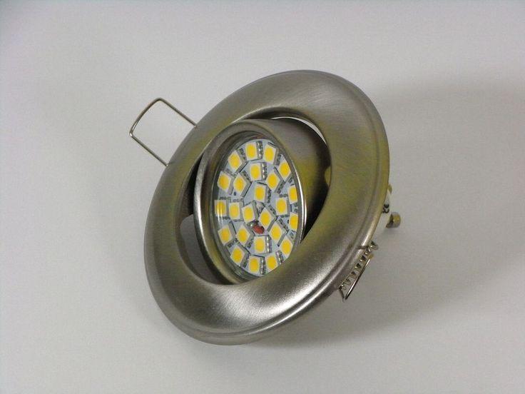 Ideal Details zu LED SMD Einbauleuchte Einbaustrahler Deckenleuchte GU W Watt warmwei