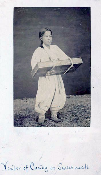 """Vender of Candy or Sweetmeats"" ca. 1878 Natl Anthropological Archives SIRIS"