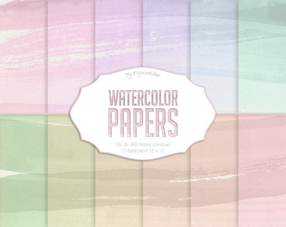 "#Watercolor Digital Paper: #Paper Textures or Watercolor Digital Backgrounds - ""Watercolor Papers""   12 digital paper ""Watercolor Papers"" this is digital paper #background wit... #etsy #digiworkshop #scrapbooking #illustration #creative #clipart #printables #crafting #watercolor #aquarelle #paper #watercolour #texture"