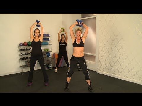 10 min video...Jackie Warner's Calorie-Blasting Power Pyramid Workout