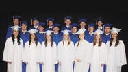 Heritage Academy presented diplomas to 19 students on May 25.