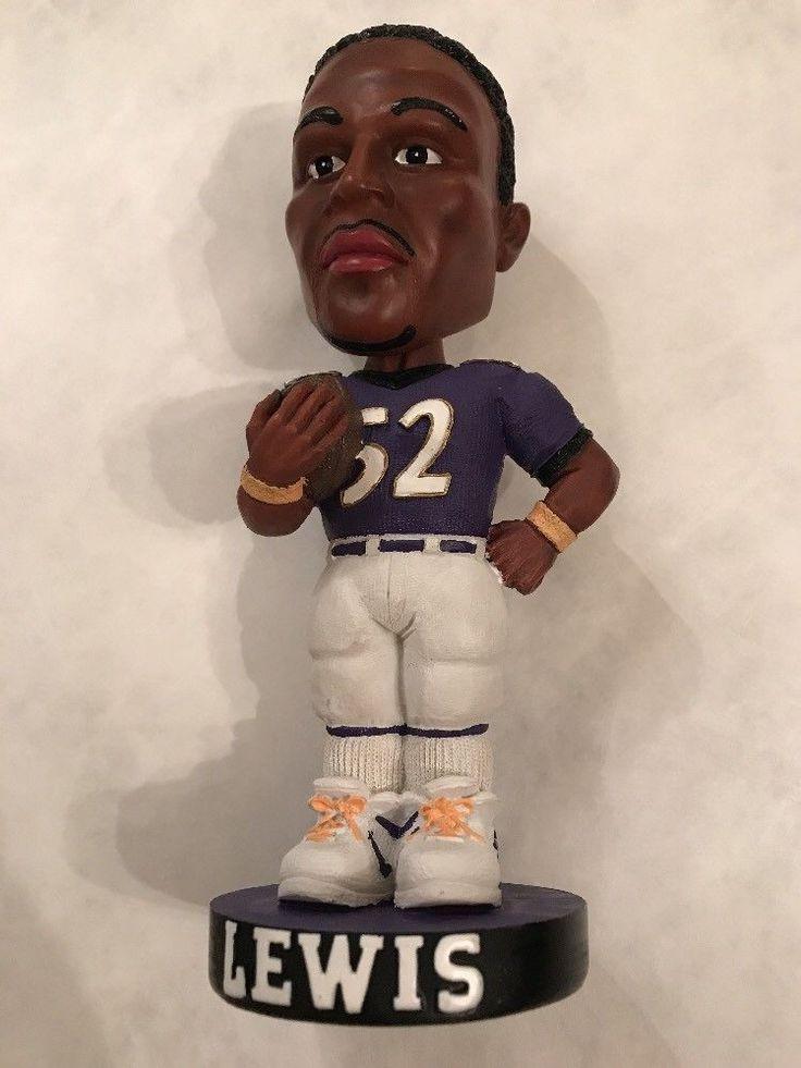 Ray Lewis #52 Baltimore Ravens Bobblehead Football Figure  | eBay