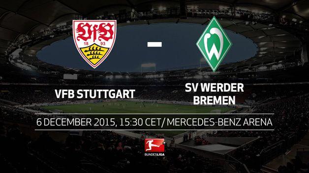 Preview dan Prediksi Line Up VfB Stuttgart vs SV Werder Bremen, 6 Desember 2015