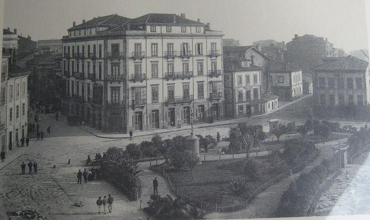1908 jardines de la reina gij n pinterest la reina for Jardines de la reina gijon