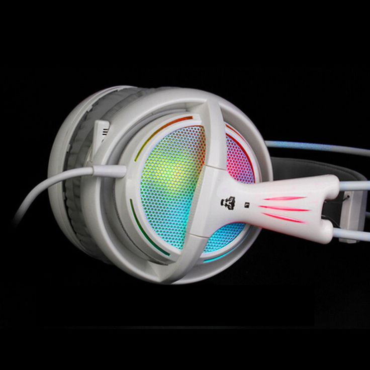 7.1 Sound Card USB Over-ear Neon Light Gaming Headphones For PC Gamer Allstar E-sports Video Game Headset With Microphone Hot