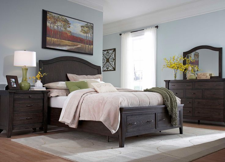 Awesome Attic Retreat King Sleigh Storage Bed by Broyhill Furniture Belfort Furniture Sleigh Bed Washington DC Northern Virginia NoVA Maryland and Dulles - Modern broyhill bedroom set Pictures
