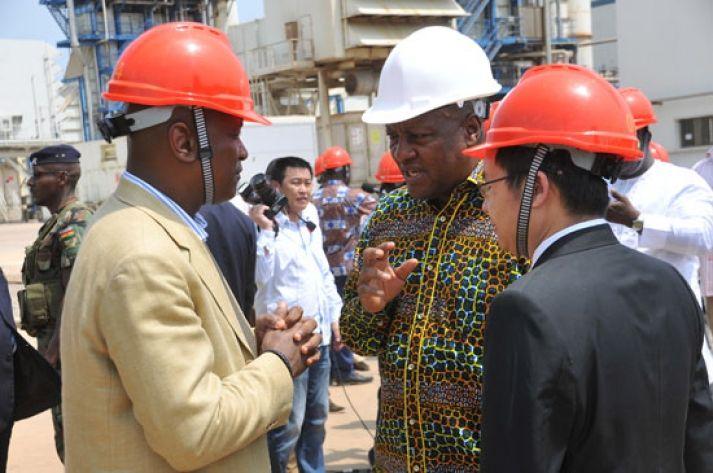 President Mahama visits Akosombo dam - http://www.ghanatoghana.com/president-mahama-visits-akosombo-dam/