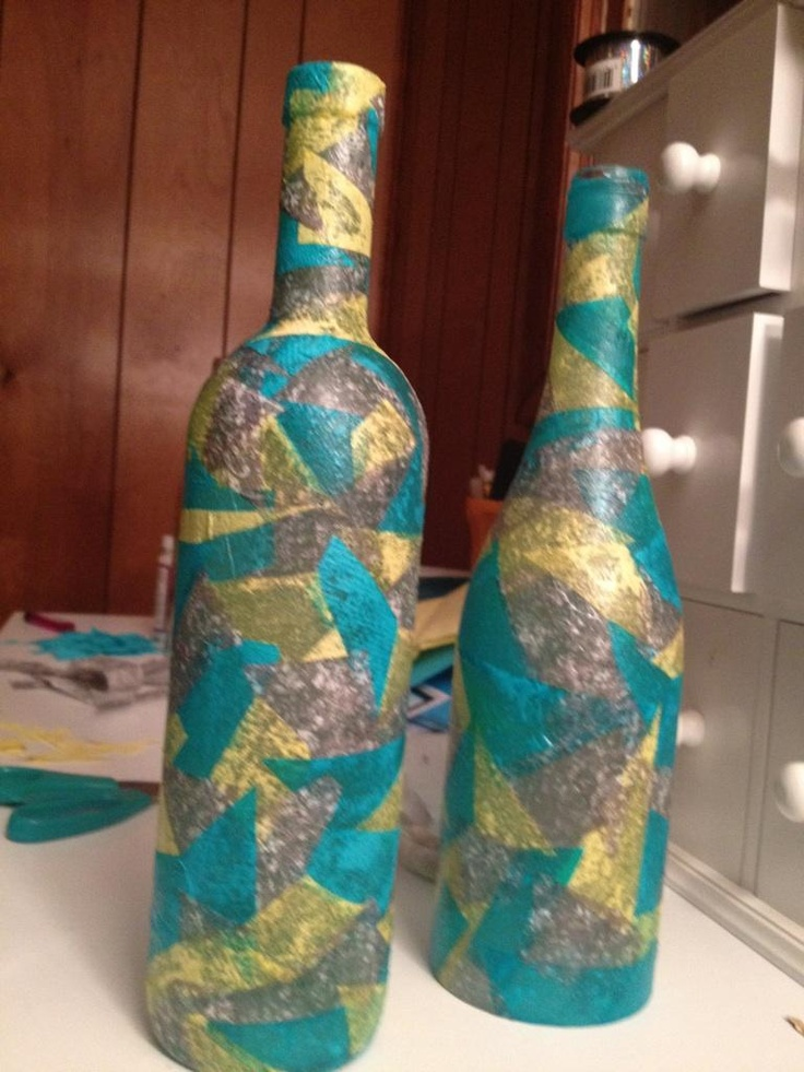 17 best images about mod podge crafts on pinterest diy for How to cut the bottom of a glass bottle
