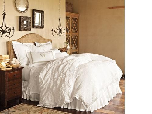 13 Best Layered White Bedding Ideas Images On Pinterest