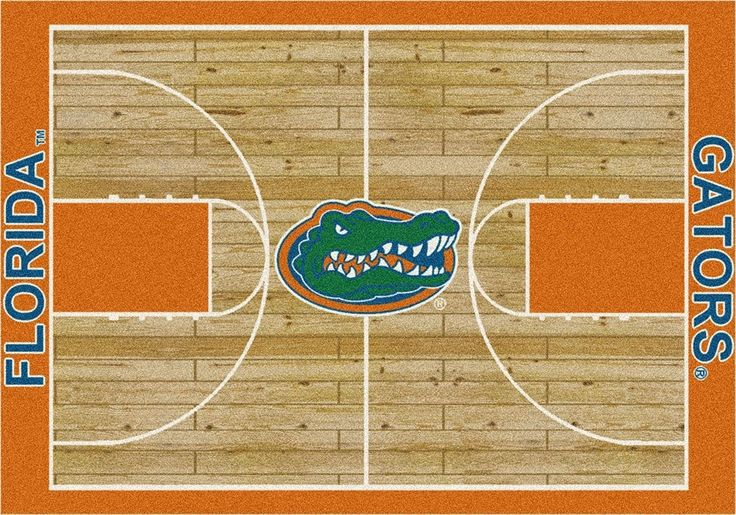 Florida Rug University Basketball Court