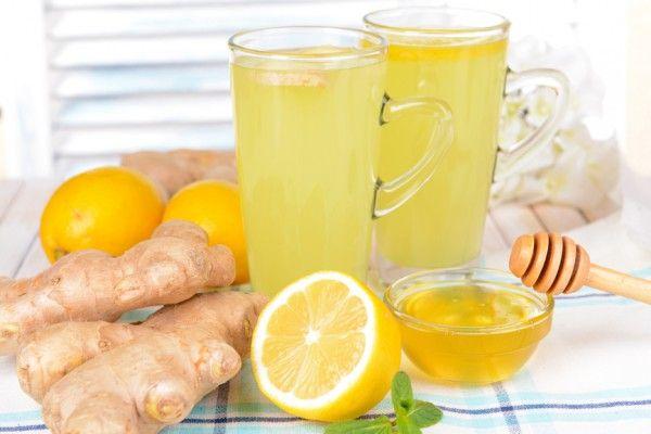 Имбирная диета лимон мед