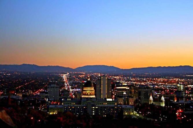 Salt Lake City Downtown|©Micah Sheldon/Flickr