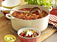 Eintopf - deftige Suppen mit ganz viel drin - chili-puten-eintopf  Rezept