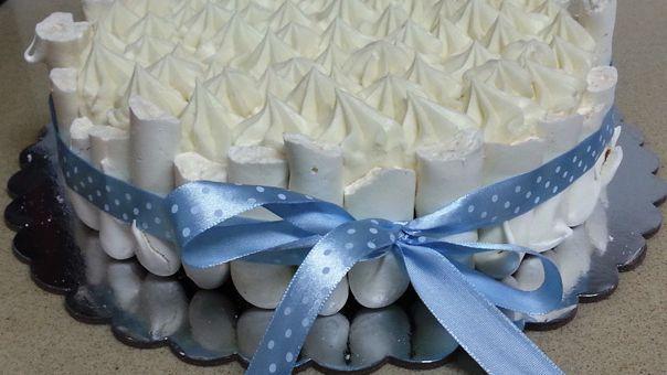 עוגת קונקורד שוקולד לבן