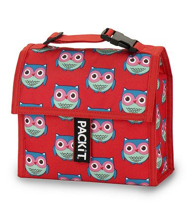 Another great find on #zulily! Owls Mini Cooler by PackIt #zulilyfinds, $10 !!