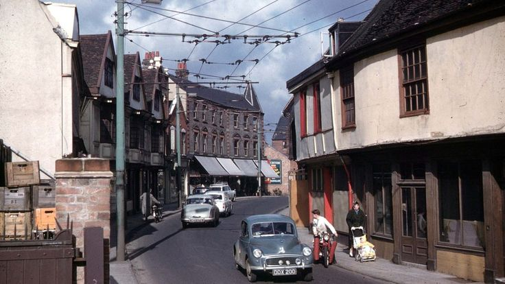 Fore Street, Ipswich, early 1960s
