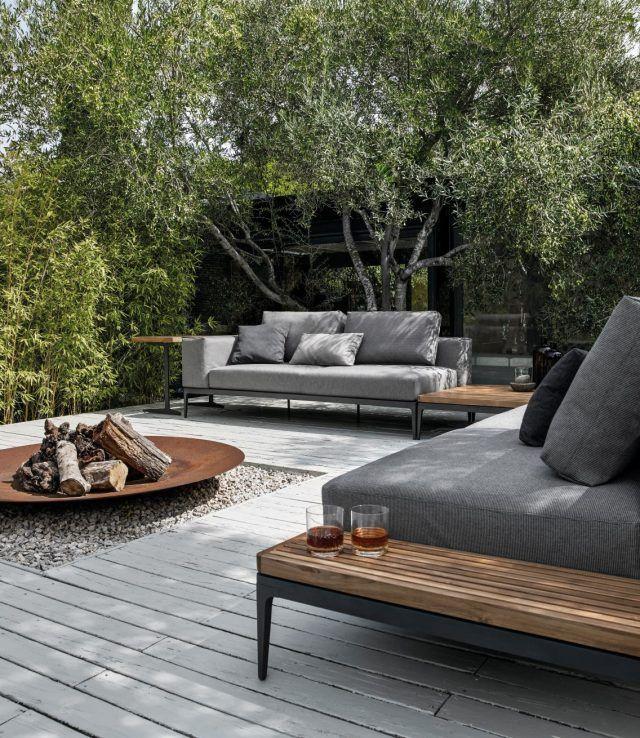 Mobilier ext rieur haut de gamme jardin de ville mobilier ext rieur home en 2019 outdoor for Mobilier exterieur haut de gamme