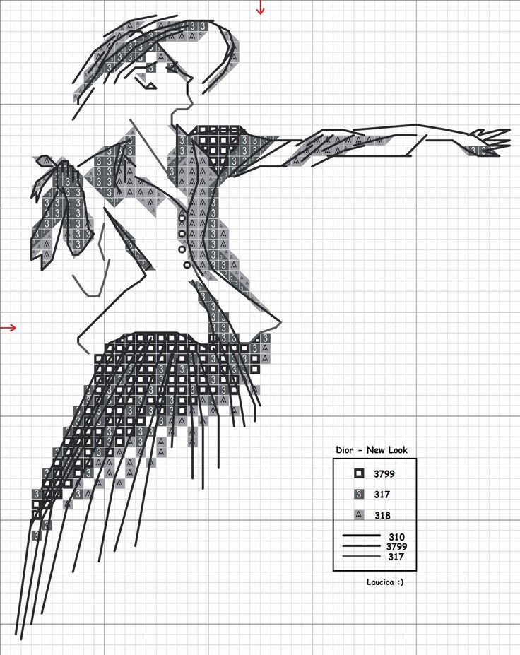 pinterest woman silhouette cross stitch charts   Share ...