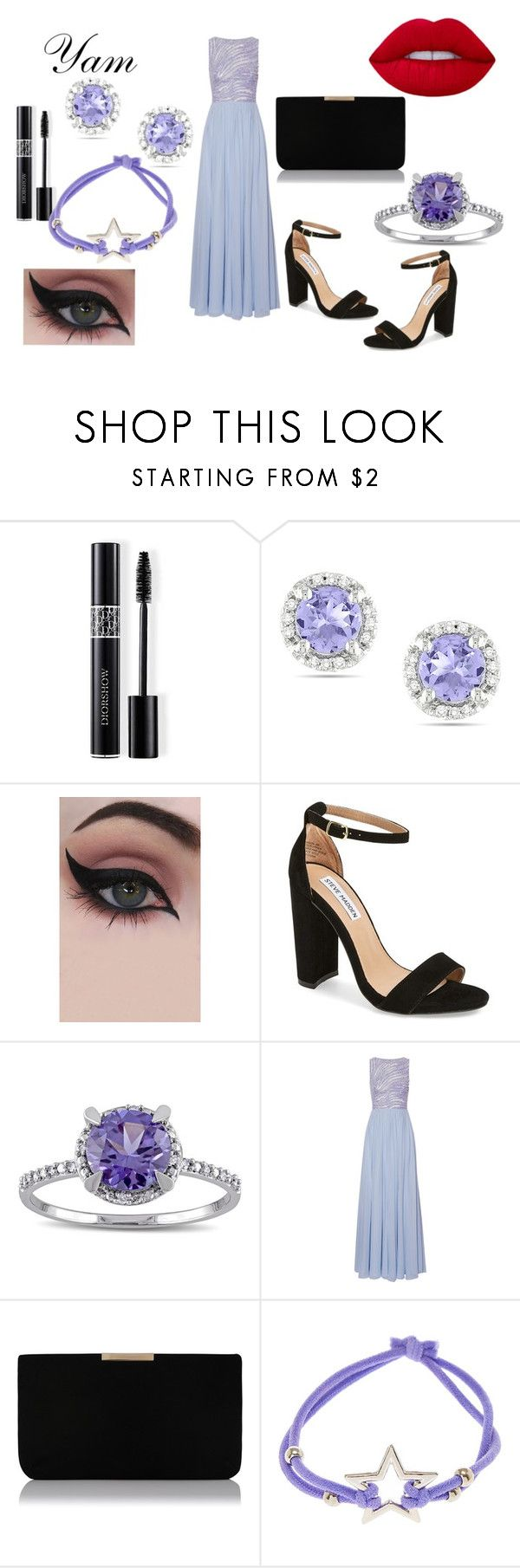 """""""Sol antes de Luna"""" by love1662002 on Polyvore featuring Christian Dior, Ice, Concrete Minerals, Steve Madden, Miadora, Zuhair Murad and L.K.Bennett"""