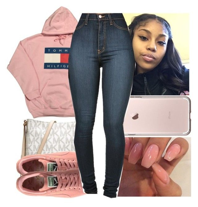 """""""Babygirl ✨"""" by shadea04 ❤ liked on Polyvore featuring MICHAEL Michael Kors and Vibrant"""