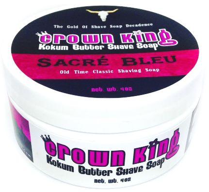 Crown King Sacré Bleu Shaving Soap