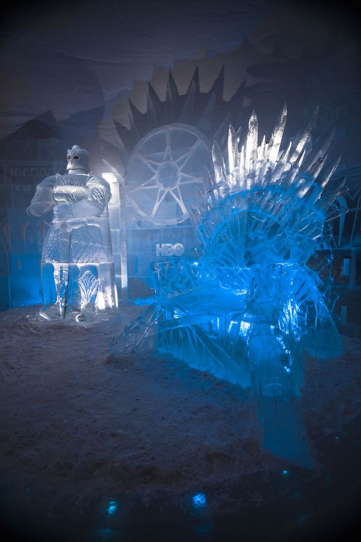 This Game Of Thrones-Themed Hotel Is Literally Made of Ice & We Need To Go #refinery29 http://www.refinery29.com/2018/01/187526/lapland-hotels-snowvillage-game-of-thrones#slide-9